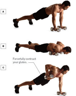 flotari complexe pentru piept, spate, brate; complex pushups for chest, back pushups, pushups for arms